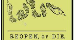 EDITORIAL CARTOON: Reopen or Die