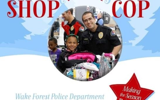 Police Department accepting donations for Shop with a Cop