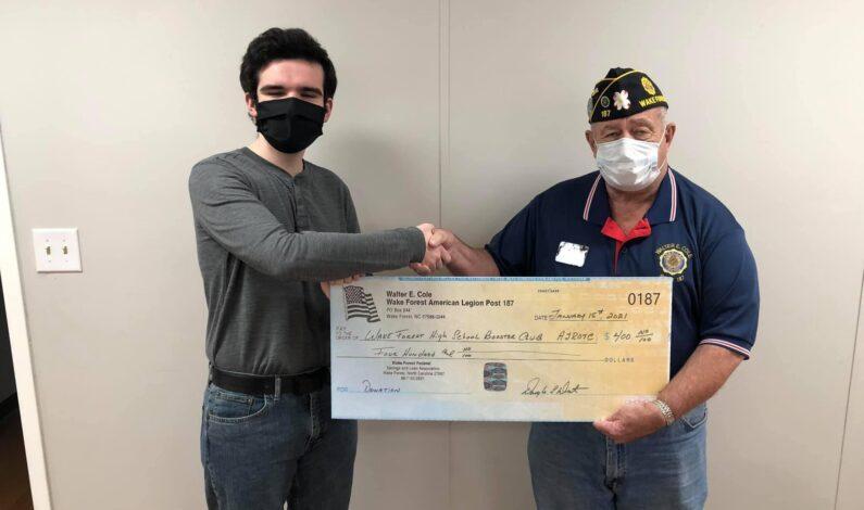 JROTC receives donation