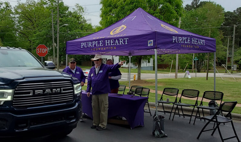 Wake Forest Purple Heart Foundation Shred-a-thon a success