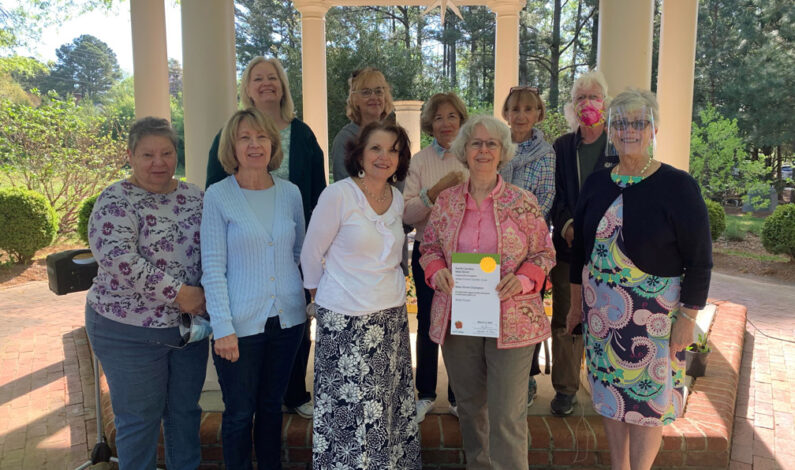 Garden Club honored