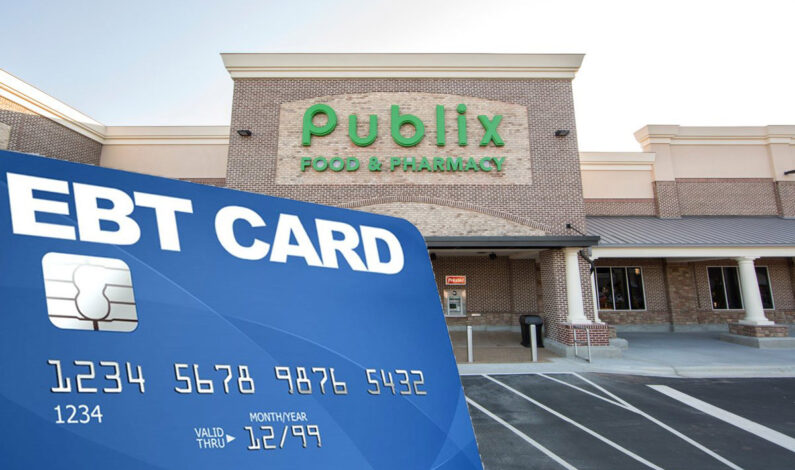 EBT cards are now accepted at Publix