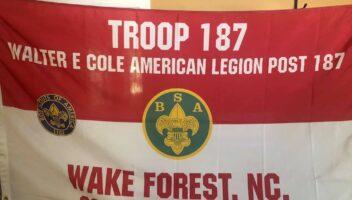 Scout Troop takes sponsor's number